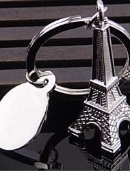 style mini métal mini-tour eiffel trousseau