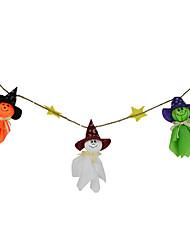 1pc de halloween fantôme poupée halloween hanté ornements de maison