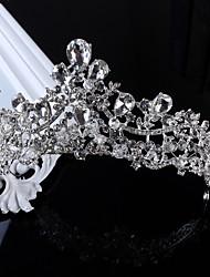 Mulheres Strass Liga Imitação de Pérola Capacete-Casamento Ocasião Especial Casual Tiaras 1 Peça