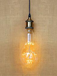 AC 220-240V 2W E26/E27 LED Globe Bulbs AR111 49 Dip LED 140 lm Warm White Decorative V 1 pcs