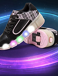 LED Light Up Shoes,Kid Boy Girl Roller Shoes / Ultra-light Single Wheel Skating/ Athletic / Casual Shoes