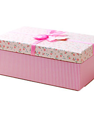 Pure And Fresh Rose Flower Rectangle Gift Box