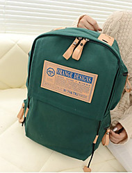 Women Canvas Casual / Outdoor School Bag