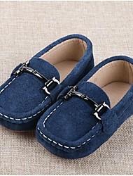 Boy's Flats Comfort Suede Casual Black / Blue