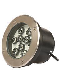 LED Underground Lights Outdoor Lawn Waterproof Spotlights 36w Stainless Steel Internal Control