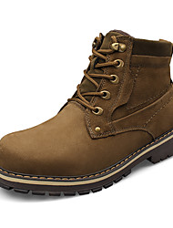Men's Boots Fall / Winter Others Cowhide Casual Lace-up Black / Brown Others