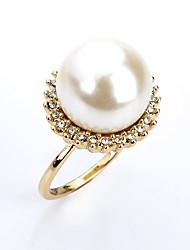 Acciaio placcato in argento Bomboniere Pratiche-1件 Fondotinta Bohemian Tema Bianco 2*2*0.5cm Perle