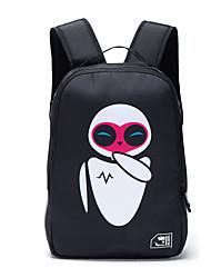 Unisex Nylon Sports / Outdoor Backpack Blue / Black