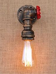 AC 220V-240V 40w e27 bg807 saudade tubulação de água simples luz decorativos de parede lâmpada de parede pequeno