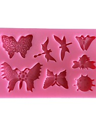 Butterflies Decoration Cake Mold  SM-465