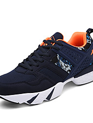 Men's Sneakers Spring / Fall Comfort Fabric Casual Flat Heel Black / Blue / Navy Sneaker