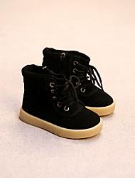 Boy's Boots Comfort Suede Casual Black / Brown / Beige