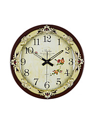 Oversized Disc Wall Clock (Note Coffee Color)