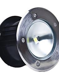 10 luzes enterrados w lâmpada LED enterrado lâmpada circular