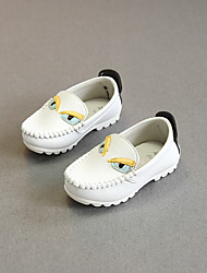 Girl's Loafers & Slip-Ons Comfort PU Casual White