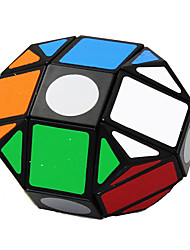 LanLan® Cube velocidade lisa Alienígeno profissional Nível Cubos Mágicos Preta Etiqueta lisa / Anti-pop Plástico