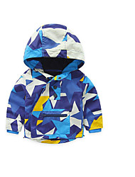 Boy's Casual/Daily Galaxy Jacket & CoatCotton Spring / Fall Blue