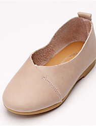 Girl's Flats Others Cowhide Casual Blue Brown Pink