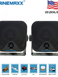 4 inch  Heavy Duty WaterProof Surface Mount Speakers for ATV Skidsteer Tractor Boat UTV Waterproof Marine Speakers