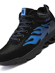 Men's Athletic Shoes Spring / Summer / Fall Comfort PU / Tulle Outdoor / Athletic / Casual  Blue / Red / WhiteTennis /