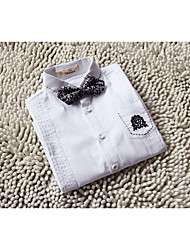 Cotton Ring Bearer Suit - One-piece Suit Pieces Includes  Shirt