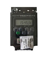 KG316T микрокомпьютер, когда переключатель управления