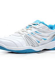 бегущие спортивная обувь женские падения комфорт PU / тюль спортивная платформа шнуровке синий бадминтона