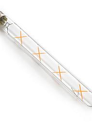 8W E26/E27 LED žárovky s vláknem T 8 COB 780 lm Teplá bílá Voděodolné V 1 ks