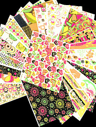24pcs Nail Art Sticker  Lace Sticker Makeup Cosmetic Nail Art Design
