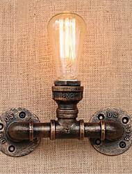 AC 220V-240V 40w e27 bg809 saudade tubulação de água simples luz decorativos de parede lâmpada de parede pequeno