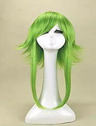 de alta qualidade anime vocaloid gumi camellia Megpoid anti alice cosplay peruca peruca resistente ao calor verde