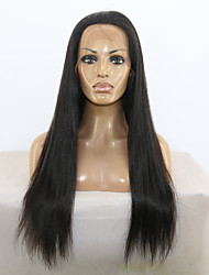 Natural Straight Full Lace & Lace Front Wig Human Virgin Hair Lace Wig with Baby Hair