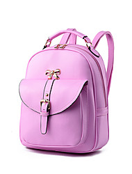 Women PU Outdoor / Shopping Backpack White / Pink / Purple / Blue / Black