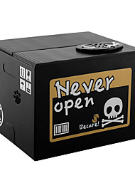 Halloween Gifts Stealing Money Skull Skeleton Statue Saving Box Money Piggy Bank