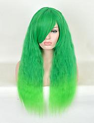 долго естественная волна дешевого тепла женщины резистентные косплей синтетический парик