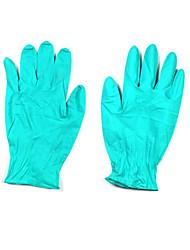 luvas de borracha resistente a perfurações descartável embalado venda (50 pares) de tamanho 8