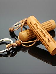 comum jujuba chaveiro de madeira relâmpago chaveiro auto pendurar chaveiro circular coração budista chaveiro sutra