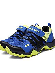 Girl's Sneakers Spring / Fall Comfort PU Casual Flat Heel Others / Hook & Loop Blue / Green / Red Walking