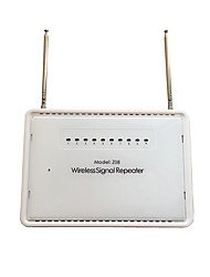 Sinal de 433MHz amplificador repetidor impulsionador sem fio para amplificar o sinal de rf de sistemas de alarme e detectores