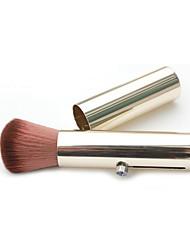 1 Pincel para Blush Pêlo Sintético Profissional / Portátil Metal Rosto Outros