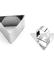 1Pcs Stainless Steel Square Shape Mousse Cake Ring Mold Layer Slicer Cookie Cutter DIY Baking