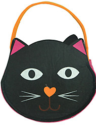 Halloween Christmas Pumpkin Cat Printing Cartoon Animal Handbag Children Candy Gift Color Bag