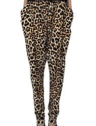 Fahion One Size Adult's Casual Leopard/Totem Printed Sport Jogging Pants Trousers Loose Hip Hop Gym Trousers Sweatpants