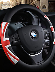 M Word Flag Car Steering Wheel Cover