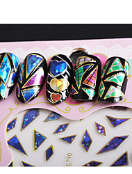 HOT Fashion Style Nail Art Transfer Foil Polish DIY Tips Decoration Nail Stickers Beauty Craft Accessories(1PCS)