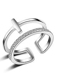 Anéis Cristal / imitação de diamante Ajustável / Adorável / Multi-maneiras Wear / Sexy / Crossover / FashionCasamento / Pesta / Diário /
