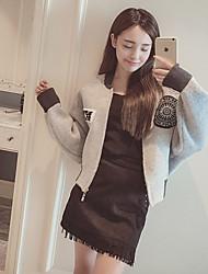 Damen Einfach Jacke