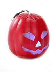Halloween Pumpkin speaker Bluetooth Portable Stereo Speaker with Ultra Clear Sound Tf Card Reader / FM / USB