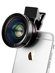 37mm 0.45x iphone large lense clip d'angle pour iphone / caméra smartphone Android