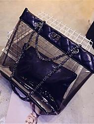 Feminino PVC Casual / Ao Ar Livre Bolsa de Ombro